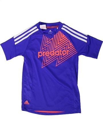 Camiseta deportivas niño ADIDAS violeta 8 años verano #1373591_1