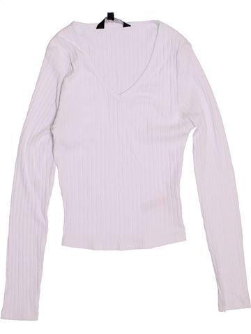 Camiseta de manga larga niña NEW LOOK blanco 13 años invierno #1373708_1