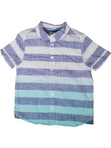 Camisa de manga corta niño F&F azul 6 años verano #1373893_1