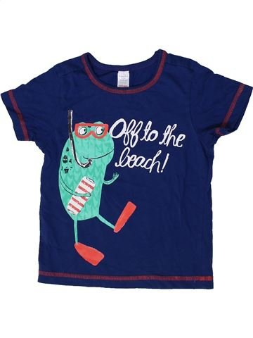 Camiseta de manga corta niño MINI CLUB azul 3 años verano #1373957_1