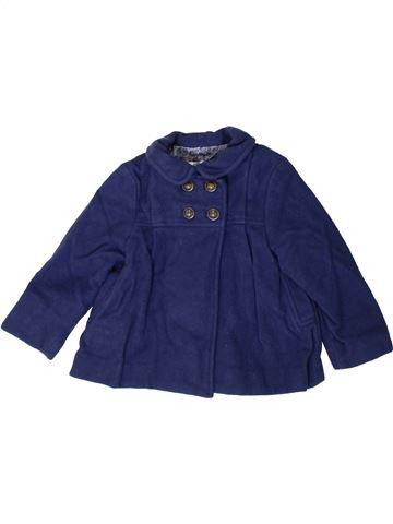 Abrigo niña ZARA azul 2 años invierno #1374029_1
