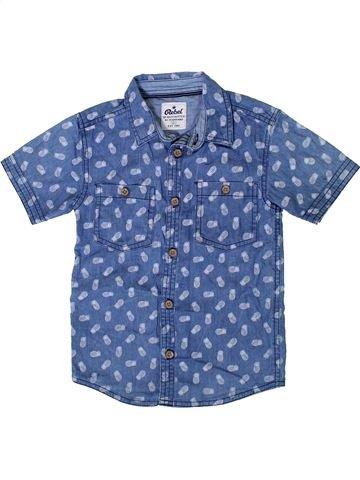Camisa de manga corta niño PRIMARK azul 6 años verano #1374131_1