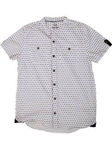 Camisa de manga corta niño F&F blanco 13 años verano #1374200_1