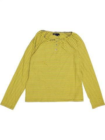 Camiseta de manga larga niña GAP amarillo 11 años invierno #1374218_1