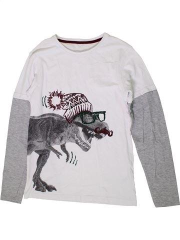 Camiseta de manga larga niño GEORGE blanco 14 años invierno #1374226_1
