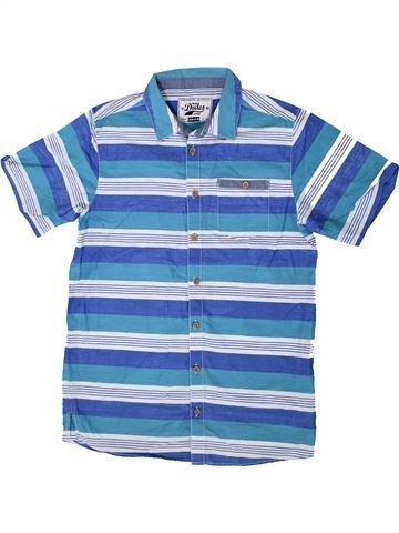 Chemise manches courtes garçon TRUE DUDES bleu 13 ans été #1374338_1