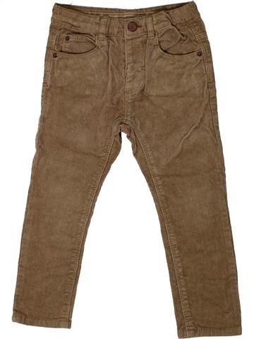 Pantalón niño ZARA marrón 4 años invierno #1374436_1