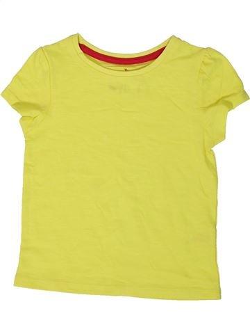 Camiseta de manga corta niña TU amarillo 2 años verano #1374492_1