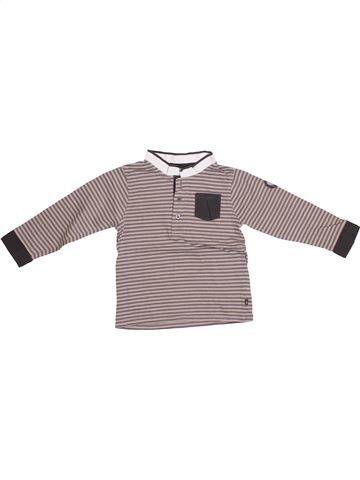Camiseta de manga larga niño OKAIDI gris 2 años invierno #1374609_1
