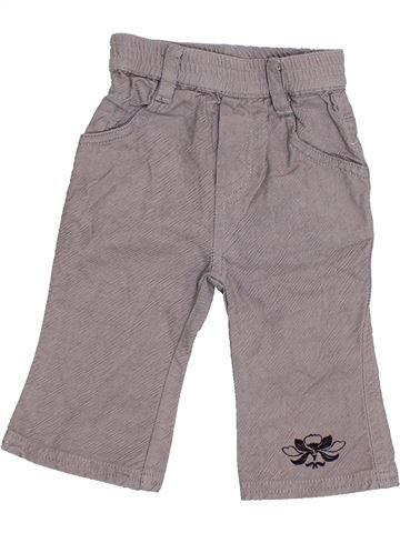 Pantalon fille SUCRE D'ORGE gris 6 mois hiver #1374651_1