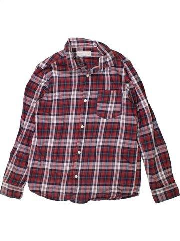 Camisa de manga larga niño ZARA violeta 10 años invierno #1374730_1