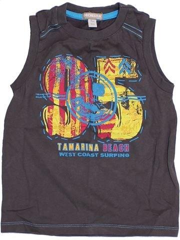 Top - Camiseta de tirantes niño ORCHESTRA gris 3 años verano #1374749_1