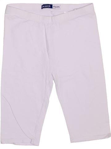 Legging niña OKAIDI blanco 12 años verano #1374843_1