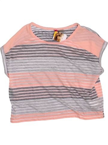 Camiseta de manga corta niña ORCHESTRA gris 10 años verano #1374855_1