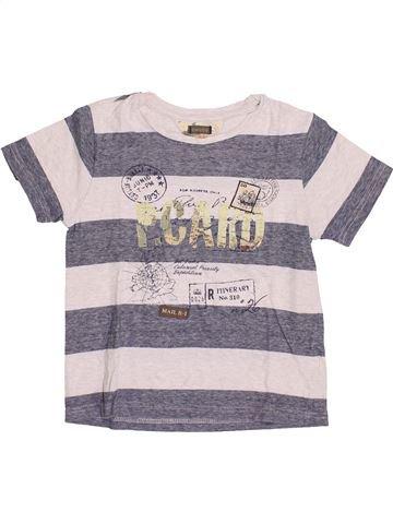 T-shirt manches courtes garçon CHICCO blanc 7 ans été #1374860_1