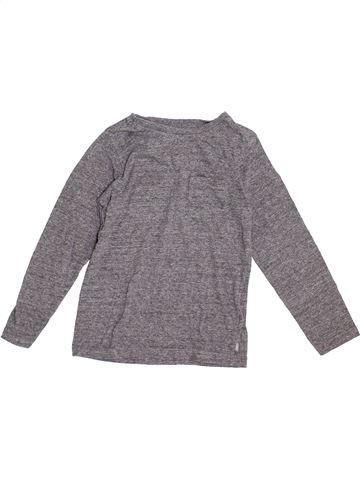 Camiseta de manga larga niño OKAIDI gris 6 años invierno #1374865_1