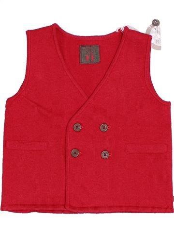 Chaleco niño NATALYS rojo 2 años invierno #1375087_1