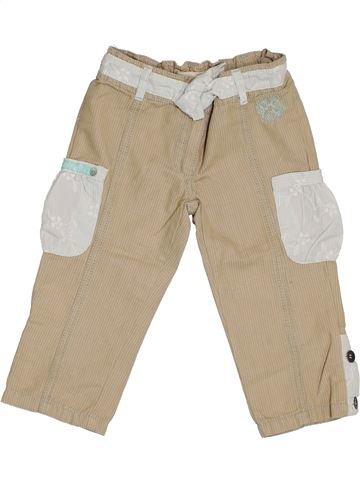 Pantalón corto niña ORCHESTRA beige 4 años verano #1375249_1