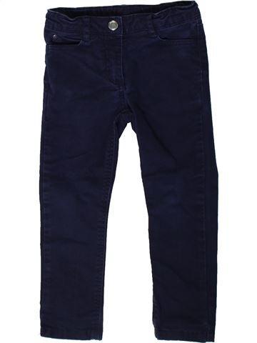 Pantalón niña JACADI negro 3 años invierno #1375297_1