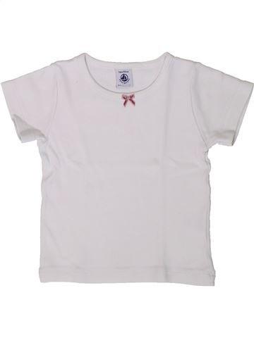 Camiseta de manga corta niña PETIT BATEAU blanco 3 años verano #1375305_1