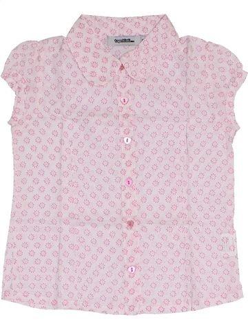 Blusa de manga corta niña TAPE À L'OEIL blanco 4 años verano #1375321_1