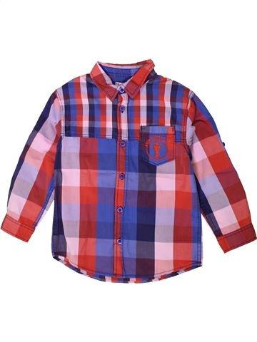 Camisa de manga larga niño DPAM violeta 5 años invierno #1375380_1