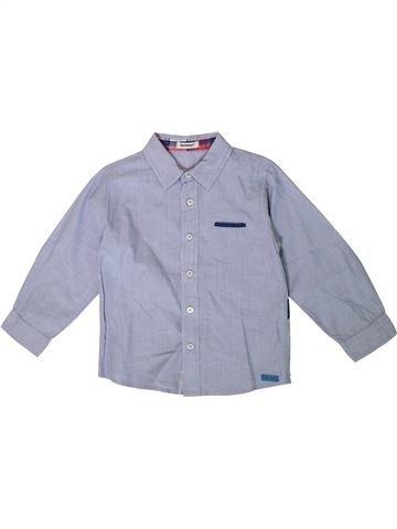 Camisa de manga larga niño 3 POMMES azul 5 años invierno #1375383_1