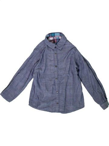Camisa de manga larga niño OKAIDI azul 6 años invierno #1375392_1