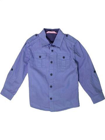 Camisa de manga larga niño H&M violeta 5 años invierno #1375395_1