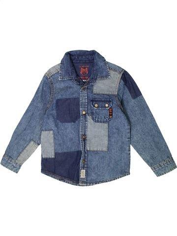 Camisa de manga larga niño LC WAIKIKI azul 5 años invierno #1375406_1