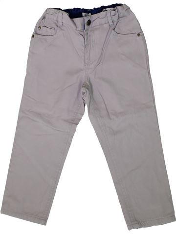Pantalón niño BOUT'CHOU gris 3 años invierno #1375495_1