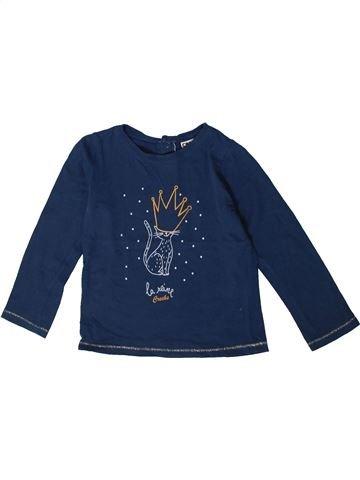 Camiseta de manga larga niña CREEKS azul 3 años invierno #1375526_1