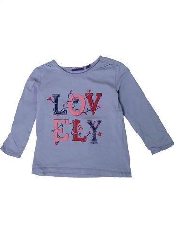 T-shirt manches longues fille MEXX bleu 7 ans hiver #1375533_1