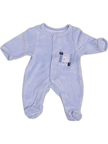Pyjama 1 pièce garçon VERTBAUDET gris prématuré hiver #1376379_1