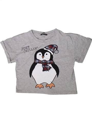 Camiseta de manga corta niña CANDY COUTURE gris 13 años verano #1376430_1