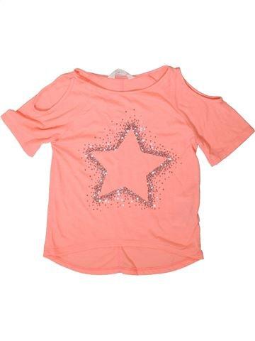 Camiseta de manga corta niña H&M beige 10 años verano #1376607_1