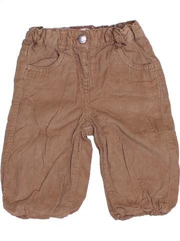 Pantalon fille KIABI marron 6 mois hiver #1376731_1