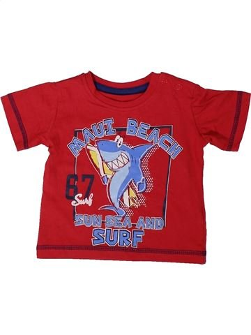 Camiseta de manga corta niño DUNNES STORES rojo 9 meses verano #1377019_1
