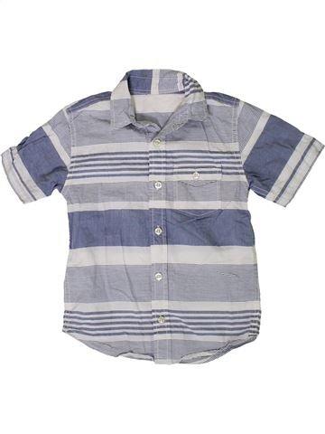 Chemise manches courtes garçon DUNNES STORES bleu 5 ans été #1377365_1
