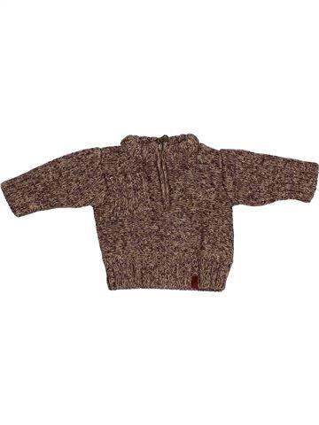 jersey niño JEAN BOURGET marrón 3 meses invierno #1377373_1