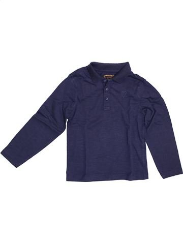 Polo de manga larga niño ORCHESTRA azul 5 años invierno #1379165_1