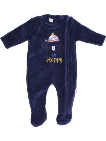 Robe de chambre garçon ABSORBA bleu 3 mois hiver #1379533_1