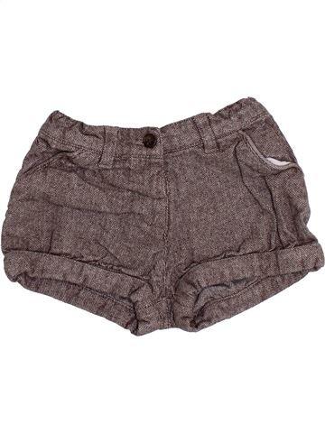 Short - Bermuda fille BOUT'CHOU gris 3 ans hiver #1379623_1
