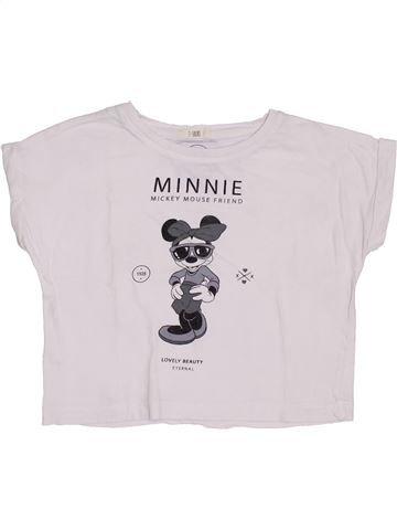 Camiseta de manga corta niña MANGO blanco 5 años verano #1380264_1