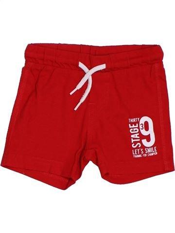 Short - Bermuda garçon GENERATION Z rouge 12 mois été #1380435_1