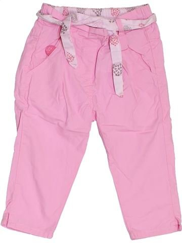 Pantalon fille SUCRE D'ORGE rose 12 mois été #1380675_1