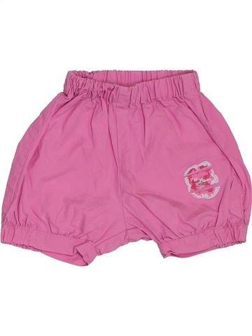 Short-Bermudas niña P'TIT BISOU violeta 12 meses verano #1380969_1