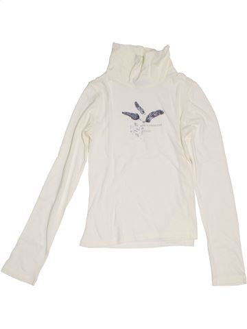 Camiseta de cuello alto niña OOXOO blanco 10 años invierno #1381380_1