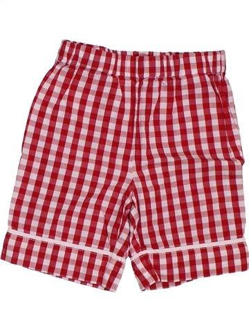 Short-Bermudas niña 3 SUISSES rojo 12 meses verano #1381612_1