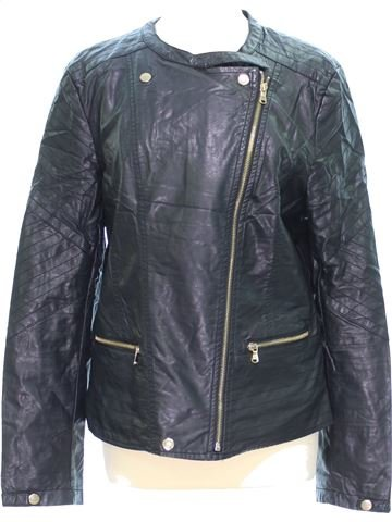 Vestes cuir simili femme BOOHOO 42 (L - T2) hiver #1381695_1